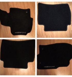 Ворсовые коврики для Mazda CX5