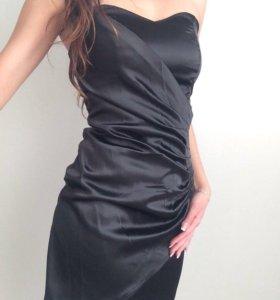 платье без бретелек😍