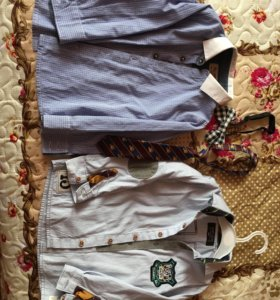 Рубашки для модника 86-92