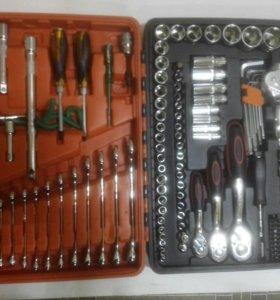 Большой набор ключей Сата ОК (121 предмет