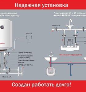 Электрические и сантехнические работы