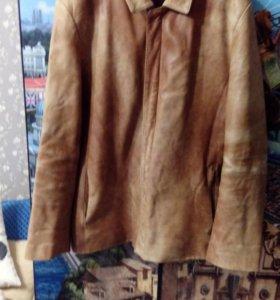 Мужская кожаная куртка фирмы.OCHNIK