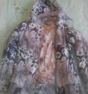 куртка ветровка в хорошем состоянии
