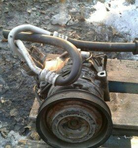 Компрессор кондиционера от двигателя 3S