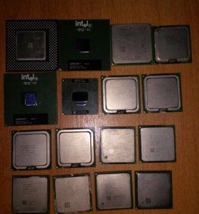 Процессор компьютер коллекция разные