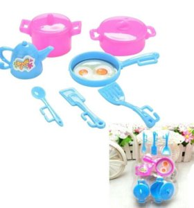 Новый набор посуды для куклы