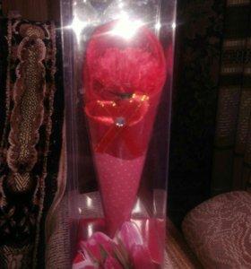 Полотенца подарочное цветок