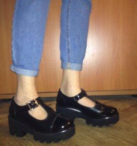 Ботинки, обувь на платформе