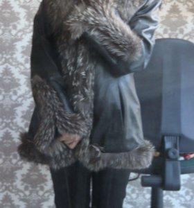 Куртка из нат. Кожи и меха