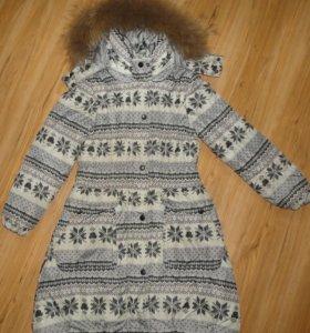 Зимнее пальто футурино