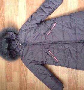 Новое зимнее пальто 98-104