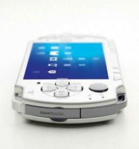 PSP 2001 WI-FI ICE SILVER. USA