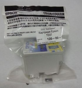 Картридж Epson T037