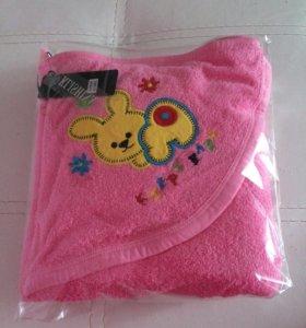 Новое полотенце-уголок