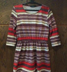 Платье рубашка кардиган