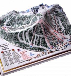 Мир перестал быть плоским-карта 3D картина