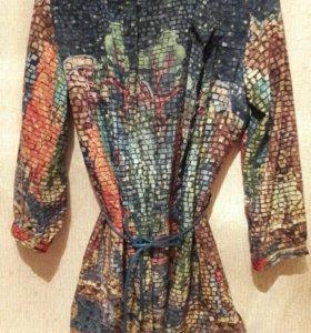 Туника, удлинённая рубашка
