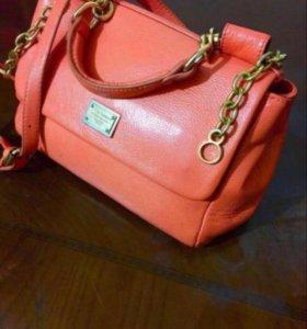 Кожаная сумка DsG💐