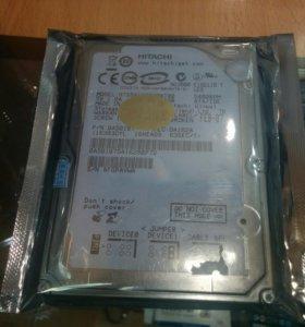 Жесткий диск Hitachi IDE на 80 Гб.