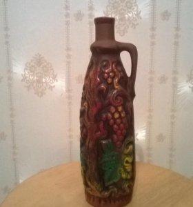 Современный Декор бутылка глиняная