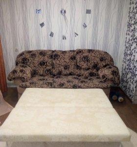 Продаю диван и кресло, в отличном состоянии
