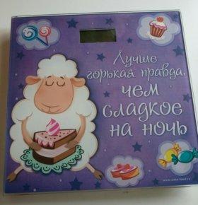 """Напольные весы """"Горькая правда"""". Новые."""