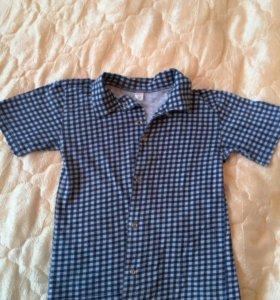 Рубашка для мальчика 5-6 лет