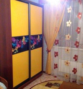 Шкаф купе с вставками фотопечать