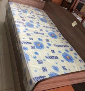 Кровать со спинками с трёх сторон