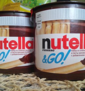 Набор Нутелла и хлебные палочки