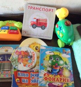 Музыкальные игрушки и книжки, пакетом