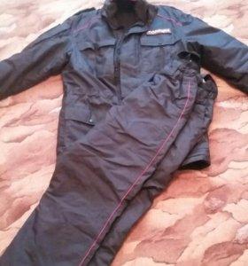 Демисезонный костюм полиции.