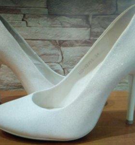 Свадебные туфли 34 размер