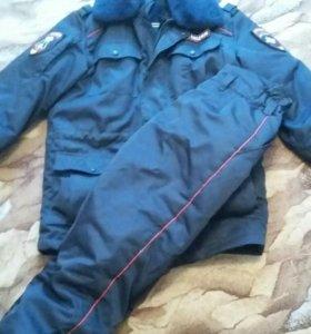 Зимний костюм полиции.