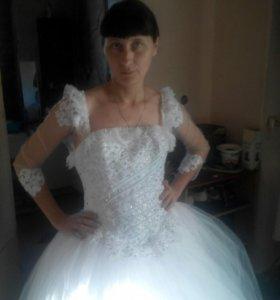 Свадьбное платья