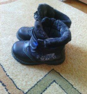 Детские ботинки,зима