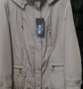 Куртка новая 54-56