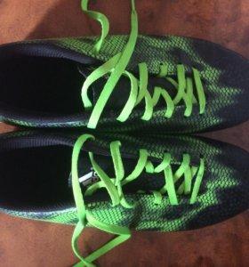 Мужские футбольные кроссовки Adidas F10