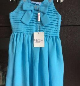 Платье новое на 1-3года