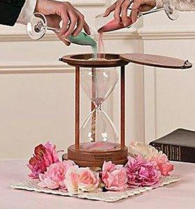 Сосуд - Песочные часы для песочной церемонии