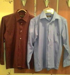 Рубашки для мальчика размеры 40 и 42