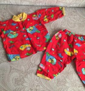 Хлопковая одежда на малышку или малыша