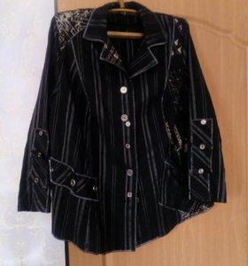 Легкий пиджак 54-56р