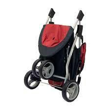 Прогулочная коляска красная Baby Care Jogger Lite