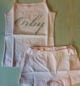 Комплект для девочки Orby, новый