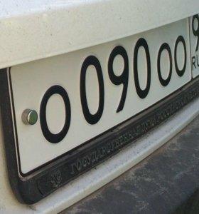 Крепление номерного знака