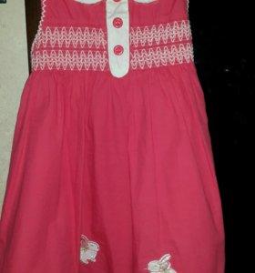 Платье на 1-3 года.