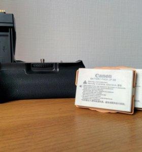 Батарейный блок и аккумуляторы LP-E8