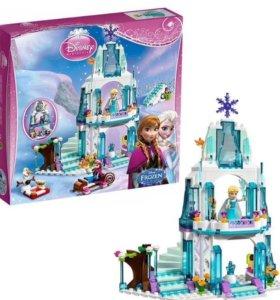 Новый Ледяной замок Эльзы Лего Lego аналог