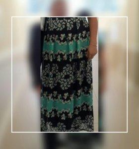 Платье в пол.летнее